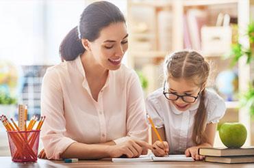 insegnare bambini studiare da soli